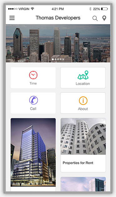 real estate & developers HomePage