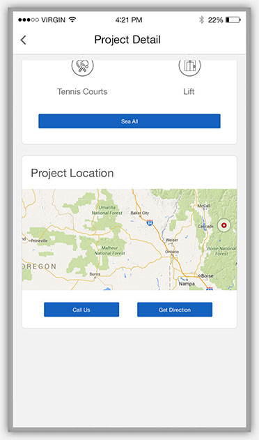 real estate & developers map location